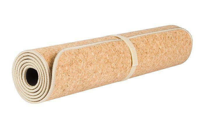 коврик для йоги пробка