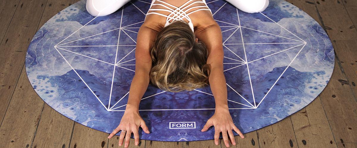 коврик для йоги круглый
