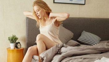 3 упражнения «Йоги не вставая с постели»