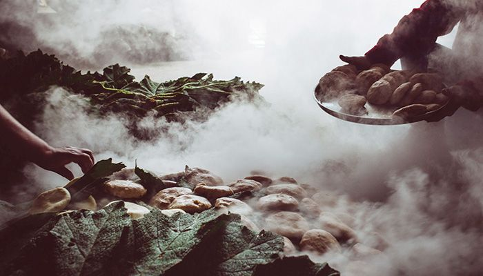Праническая еда, праническая вода и голая гречка