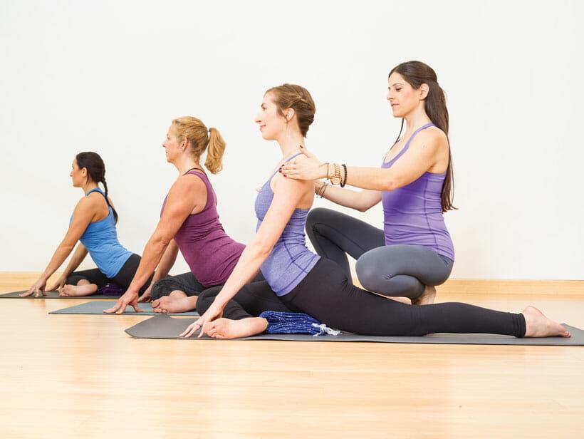 правки на йоге